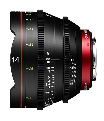 Image for product Canon-CNE-14mm-T31-L-F-Cinema-Prime-Lens